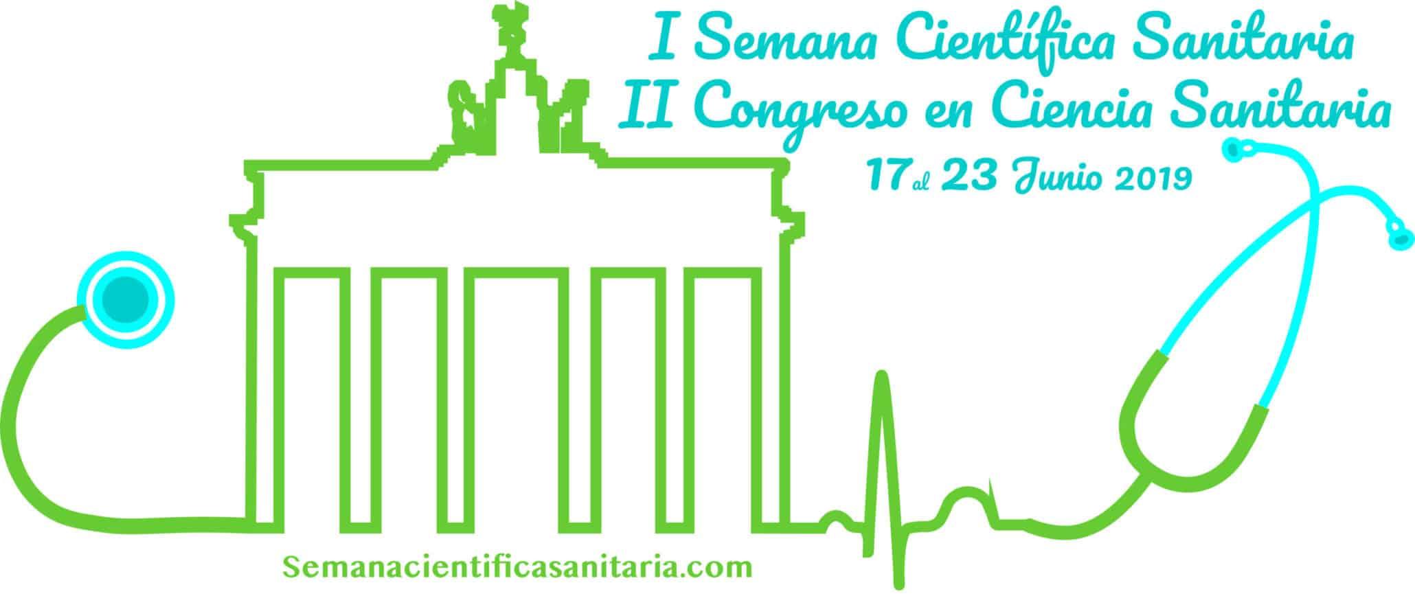 Logo II Congreso Internacional Ciencia Sanitaria Semana Cientifica Sanitaria